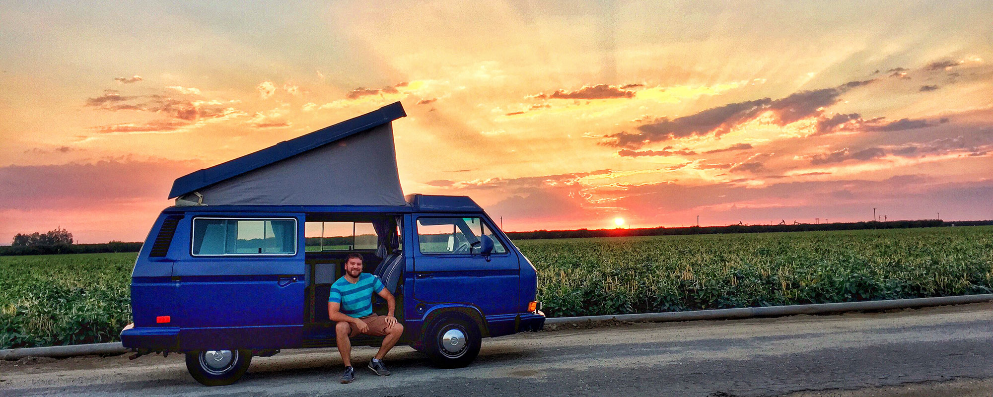 Marty and Me - Traveling the country in my VW Vanagon