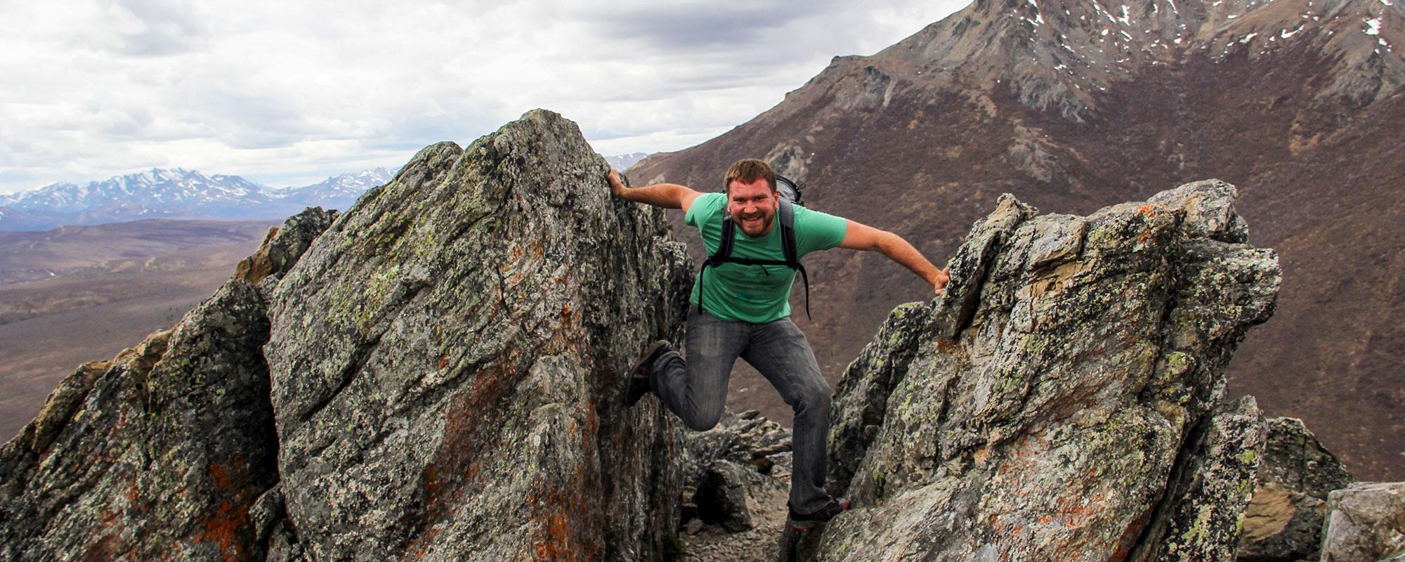 Pete at Denali National Park, Alaska